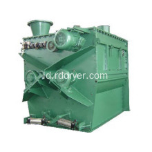 Horizontal Paddle Type Dual Shaft Mixer Machine untuk Bubuk Bahan Pakan